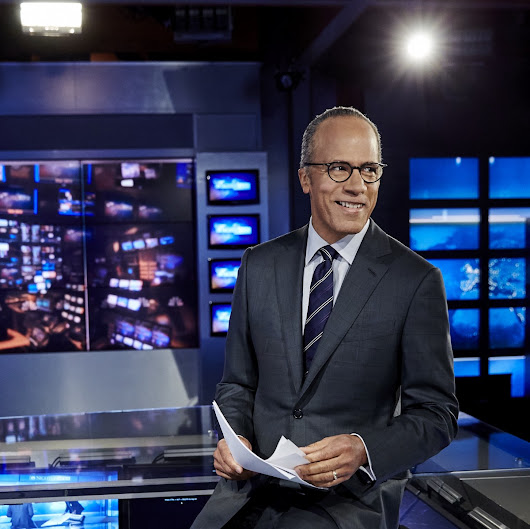 Lester Holt: 'My Cellphone and I Have a Love-Hate Thing Going On'