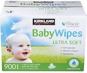 Kirkland Signature Baby Wipes, 900-Count