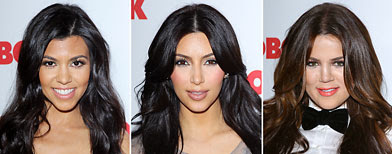 (L-R) Kourtney, Kim and Khloe Kardashian (Michael Tran/FilmMagic)