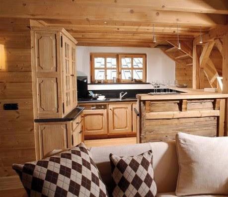 Mobili su misura arredamenti su misura di qualit arredo casa montagna il profumo del legno - Cucine da montagna ...