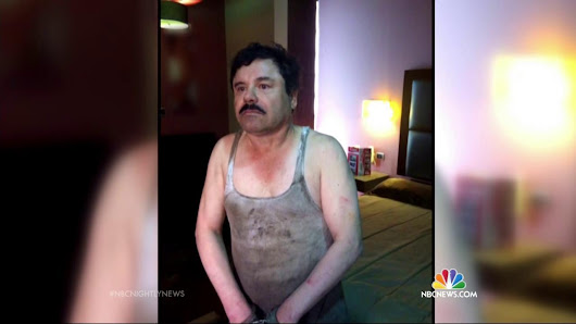 'El Chapo' Captured: Fugitive Drug Lord's Months-Long Run Ends - NBC News
