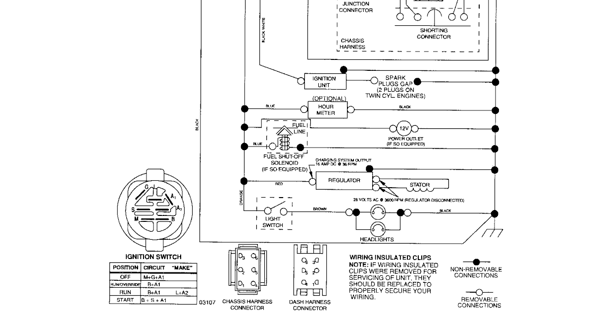 Cub Cadet Safety Switch Diagram