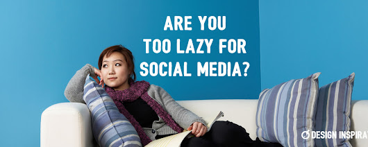 Are You Too Lazy for Social Media? | Design Inspiration