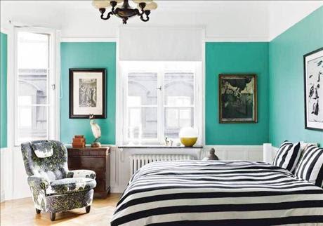 Color Blocking Bedroom | Panda's House