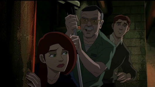 Stan Lee co-stars on Ultimate Spider-Man