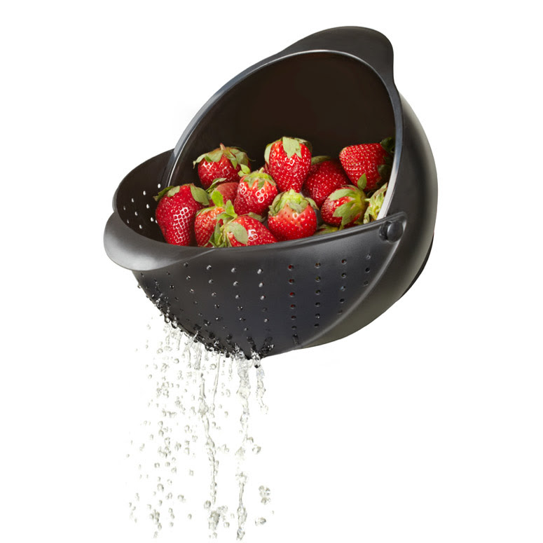 Image result for Rinse Bowl & Strainer by Umbra