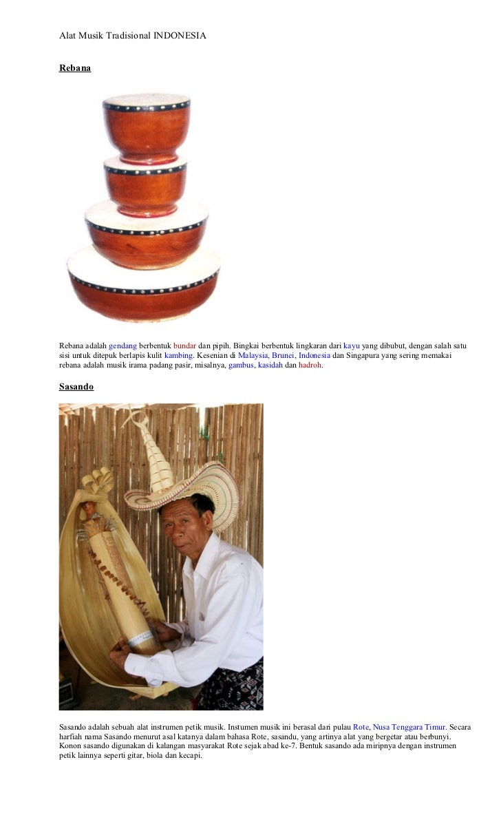 Alat Alat Musik Tradisional Brunei