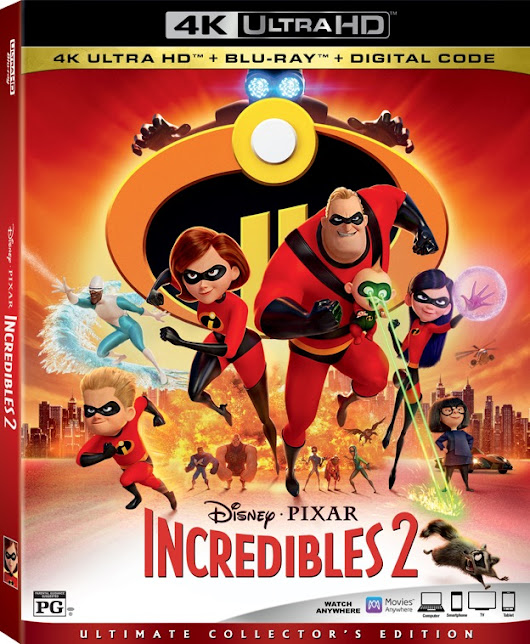 Incredibles 2 Coming to a Home Near You! - Peyton's Momma™