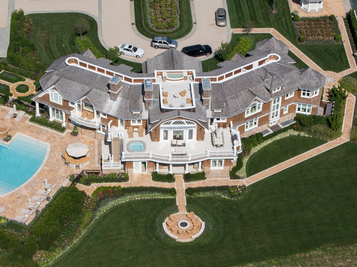 david teppers stunning hamptons mansion is now complete  here is what it looks like