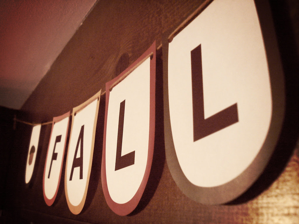 fall printable banner