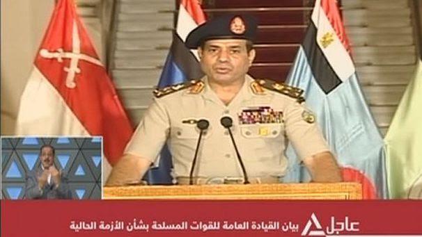 """L'armée égyptienne dépose le président Morsi, qui dénonce un """"coup d'Etat"""""""