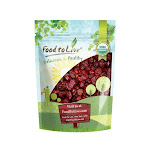 Organic Dried Strawberries, 1 Pound - by Food to Live