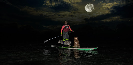 Full Moon Kayak & SUP Adventure Tour With Your Dogs Giveaway!