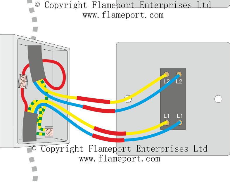 2 Way Lighting Circuit Wiring Diagram