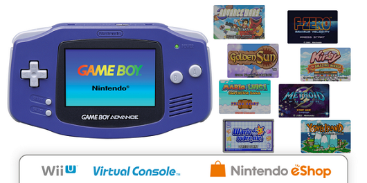 Nintendo unveils April's GBA Virtual Console games [update: NA, EU, Japan all announced]