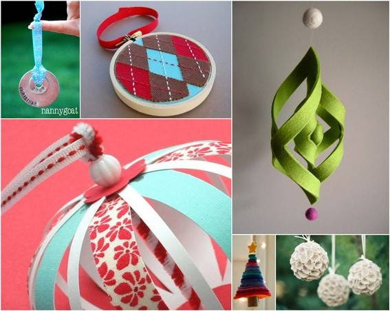 : 18 DIY Christmas Ornaments to Make This Season » Curbly  DIY