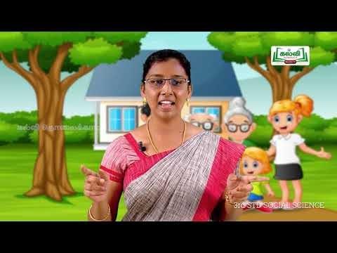 3rd Social Science குடும்பம் அலகு 1 Kalvi TV