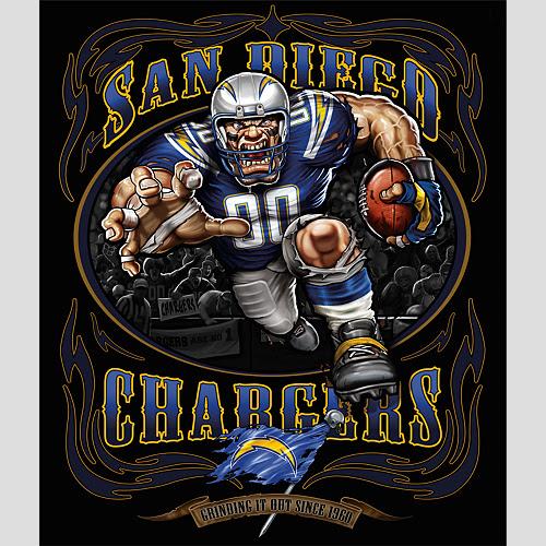 San Diego Chargers Fantasy: LE TEMPLE DE MORIKUN: BLOOD BOWL / FANTASY FOOTBALL