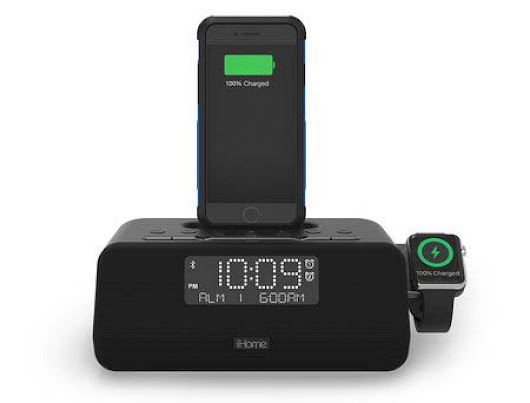 iHome Launching First Clock Radio That Can Charge Both an iPhone and Apple Watch