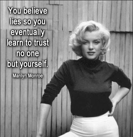 Marilyn Monroe Quotes About Trust. QuotesGram