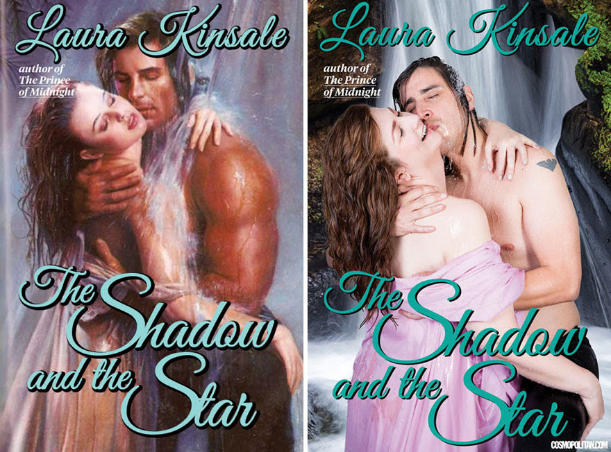 8 - 10 Pics Of Real People Hilariously Recreating Romance Novels