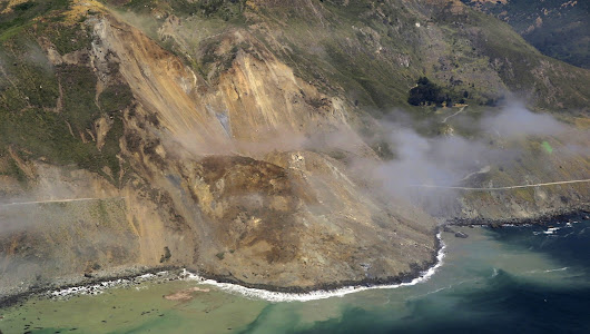 Geologists, engineers puzzle over how to remove a million tons of rock and dirt from Highway One