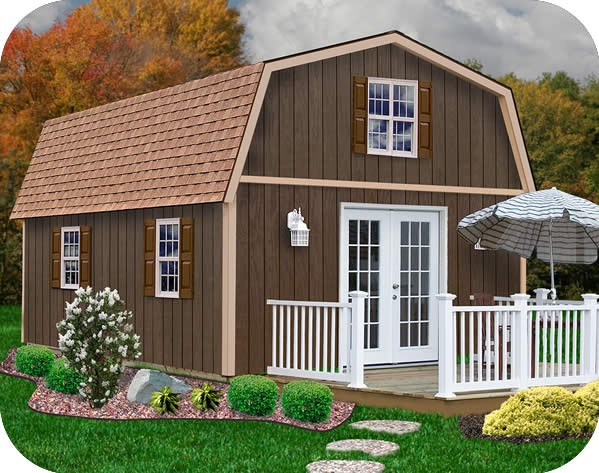 Nyi Imas Wood Storage Sheds Kits