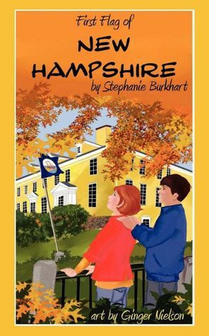 First Flag of New Hampshire by Stephanie Burkhart