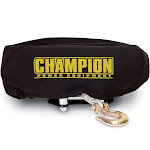 Champion Power Equipment Neoprene Winch Cover Fits 4,000lb -