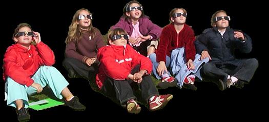 eclipse partielle de Soleil du 3 octobre 2005 à Thiviers