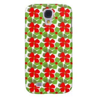 Season Flowers on Samsung Galaxy S4 Case