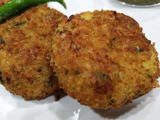 Rice Cutlet (in pav bhaji flavour)