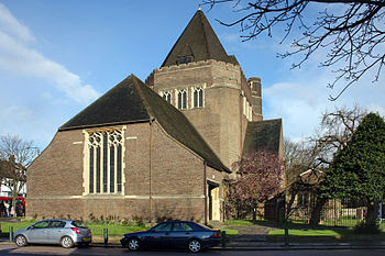 St. Alban's, Golders Green Parish Church in Ba...