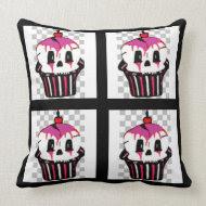 Gothic Cupcake Pillow throwpillow