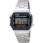 Casio A168W-1 Men's Classic Electro Luminescence Illuminator Digital Stop Watch