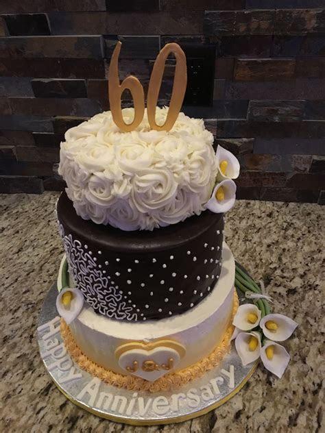 60Th Anniversary Cake   CakeCentral.com