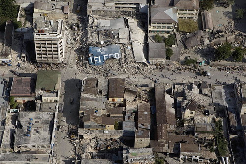 Downtown Port-au-Prince Ravaged by Quake