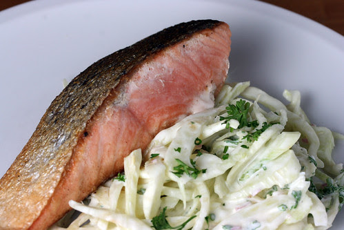 Salmon with fennel remoulade 2