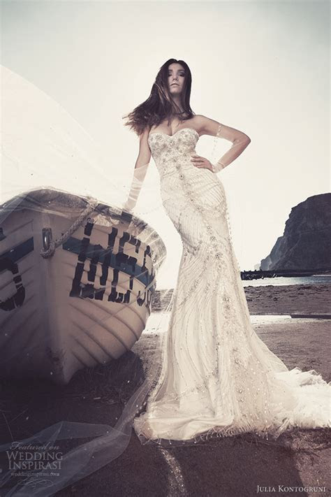 Julia Kontogruni Wedding Dresses 2013   Wedding Inspirasi
