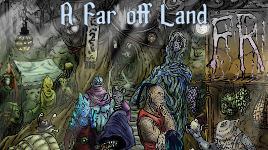 A Far Off Land, A Fate RPG in Two Worlds