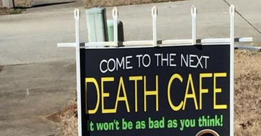 A pop-up death café is happening soon near Bath