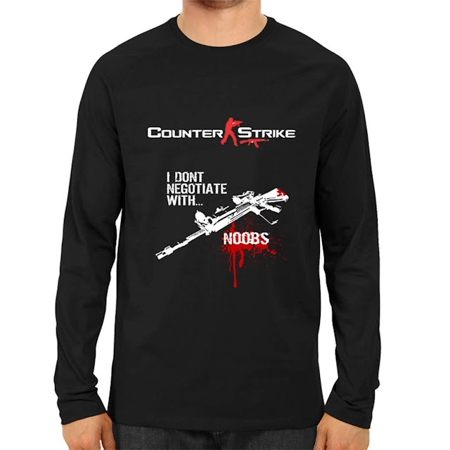 click plick Dhamija Traders Counter Strike Lovers Tshirt