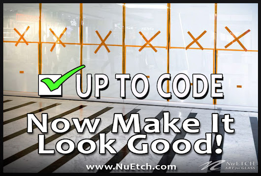 How To Make Glass Safe AND Look Good. Get Up To Code