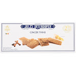 Jules Destrooper Cookies - Ginger Thins - 3.35 Ounce - PACK OF 24