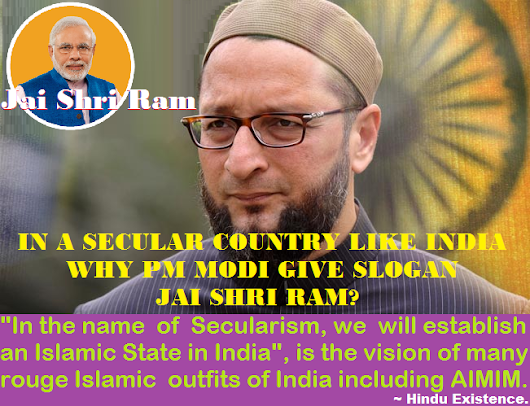 In a Secular Country like India why PM Modi give slogan Jai Shri Ram?, asks Asaduddin Owaisi.