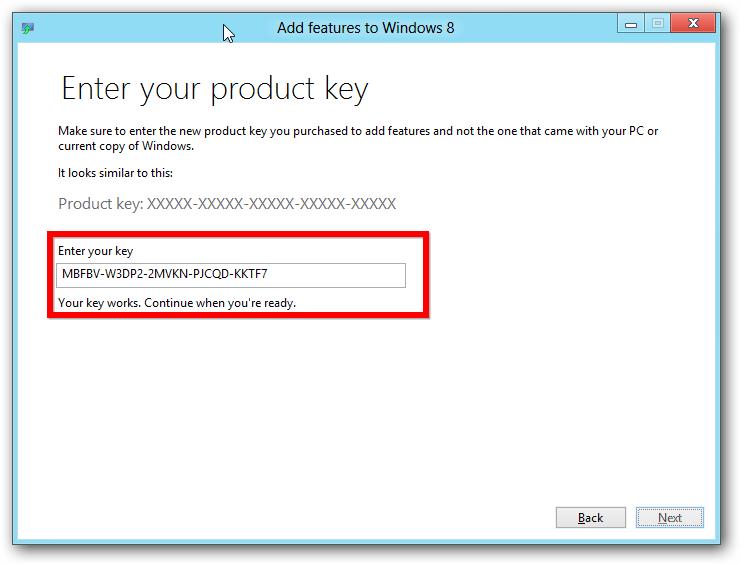 windows 8 professional product key
