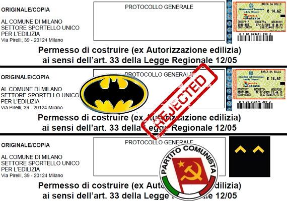 MODULISTICA EDILIZIA COMUNE di MILANO