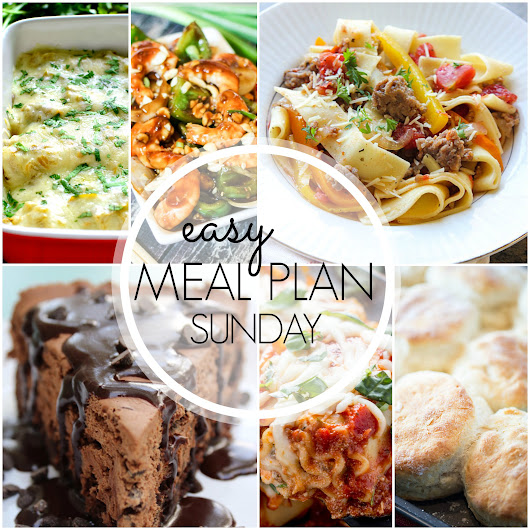 Easy Meal Plan Sunday #41 | Mandy's Recipe Box