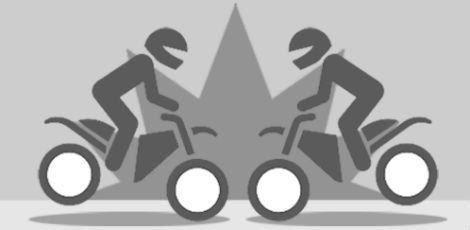 Resultado de imagem para acidente de moto ilustraçao