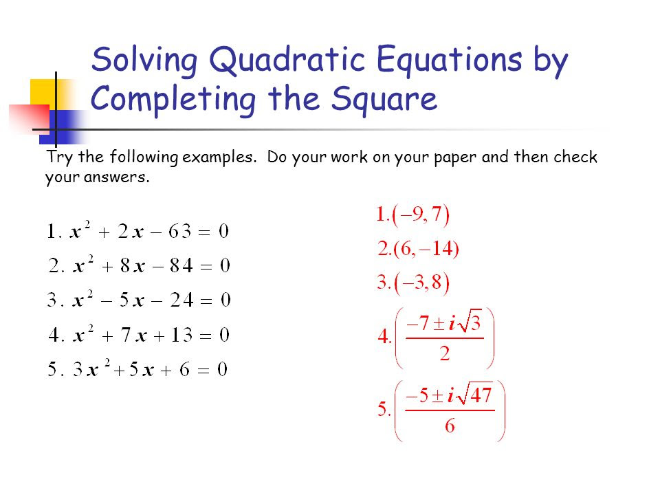 Factoring x2  9 = 0 x + 3x  3 = 0 x + 3 = 0 or x  3 = 0  ppt video online download